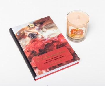 """Raamat """"Naiseks olemise kunst"""" ja küünal """"Väike Päike"""""""