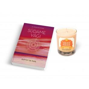 """Raamat """"Südame vägi"""" ja küünal """"Väike Päike"""""""
